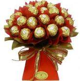 Bouquet de Chocolate Ferrero ou Trufas